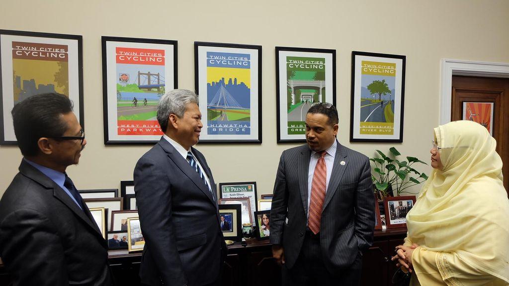 Terpesona Islam Nusantara, Anggota Kongres AS Ingin Kunjungi Indonesia