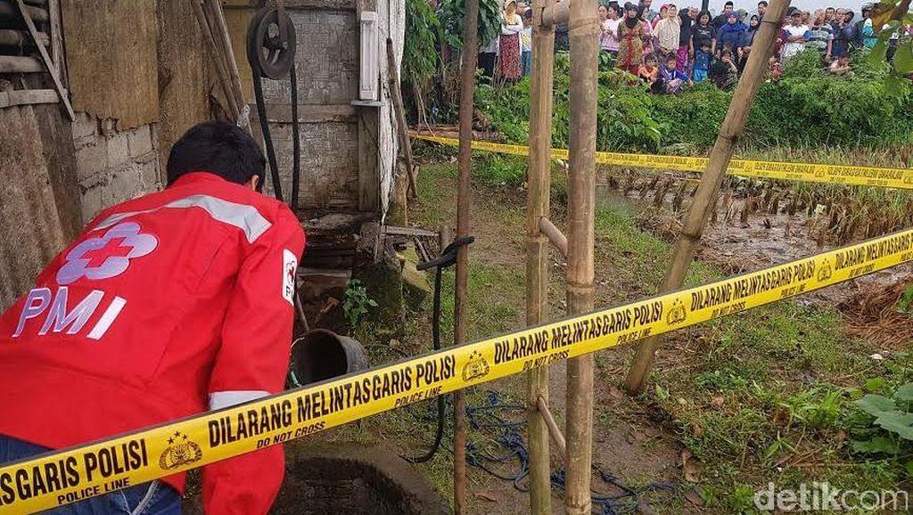 Diduga Stres, Ibu Sambil Gendong Anak Nyemplung ke Sumur di Sukabumi