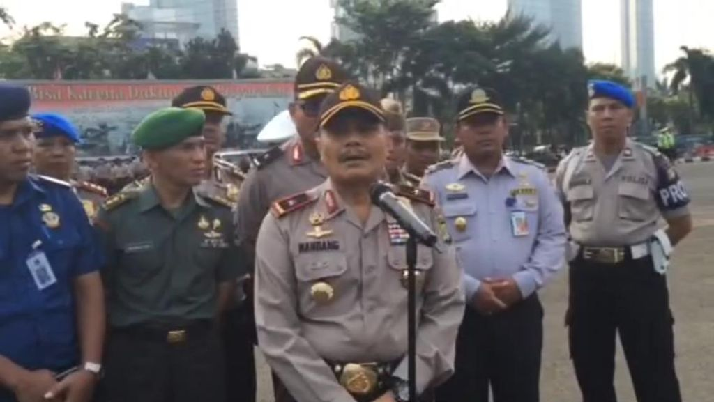 Polisi Tak Izinkan Buruh Long March HI-GBK di Peringatan May Day