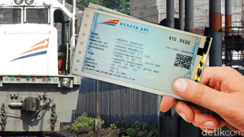 Berburu 14.088 Tiket Kereta Mudik