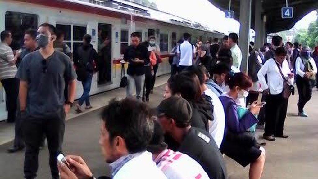 Commuter Line Jalur Bogor Terganggu, Ada Rel Patah Antara Cawang-Tebet