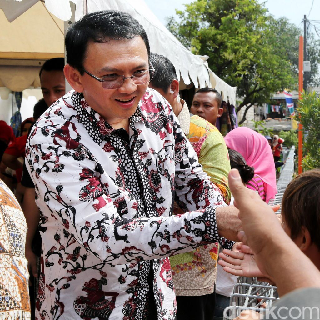 Ahok Soal Sensus Ekonomi: Ini Menguntungkan Saat Saya Jadi Gubernur DKI 2017