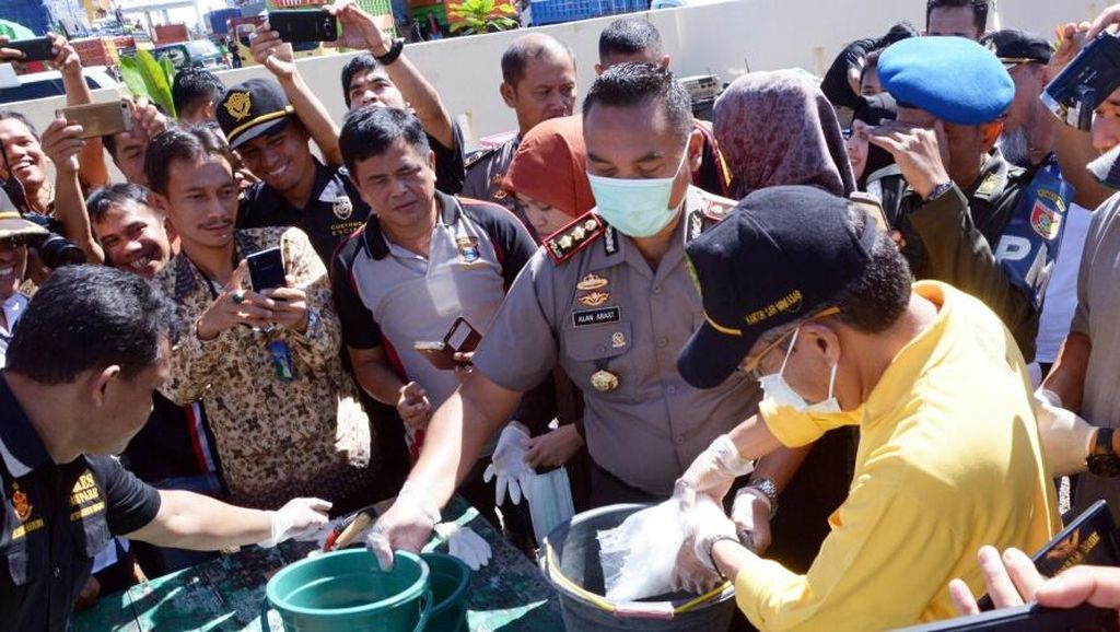 Pemkot dan Polres Parepare Musnahkan 1 Kg Sabu