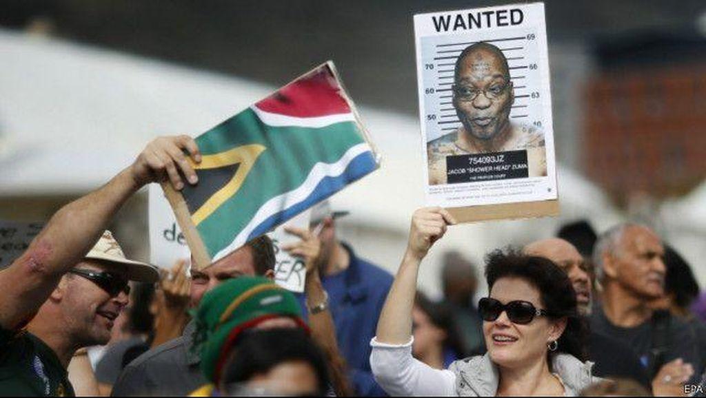 Presiden Zuma Terancam Didakwa 783 Kasus Korupsi