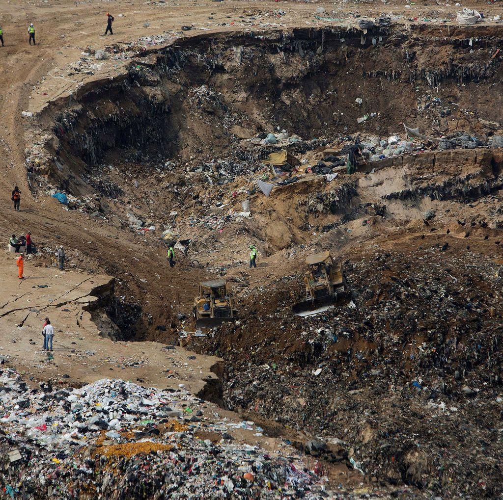 24 Orang Hilang Akibat Longsor di Pembuangan Sampah Guatemala