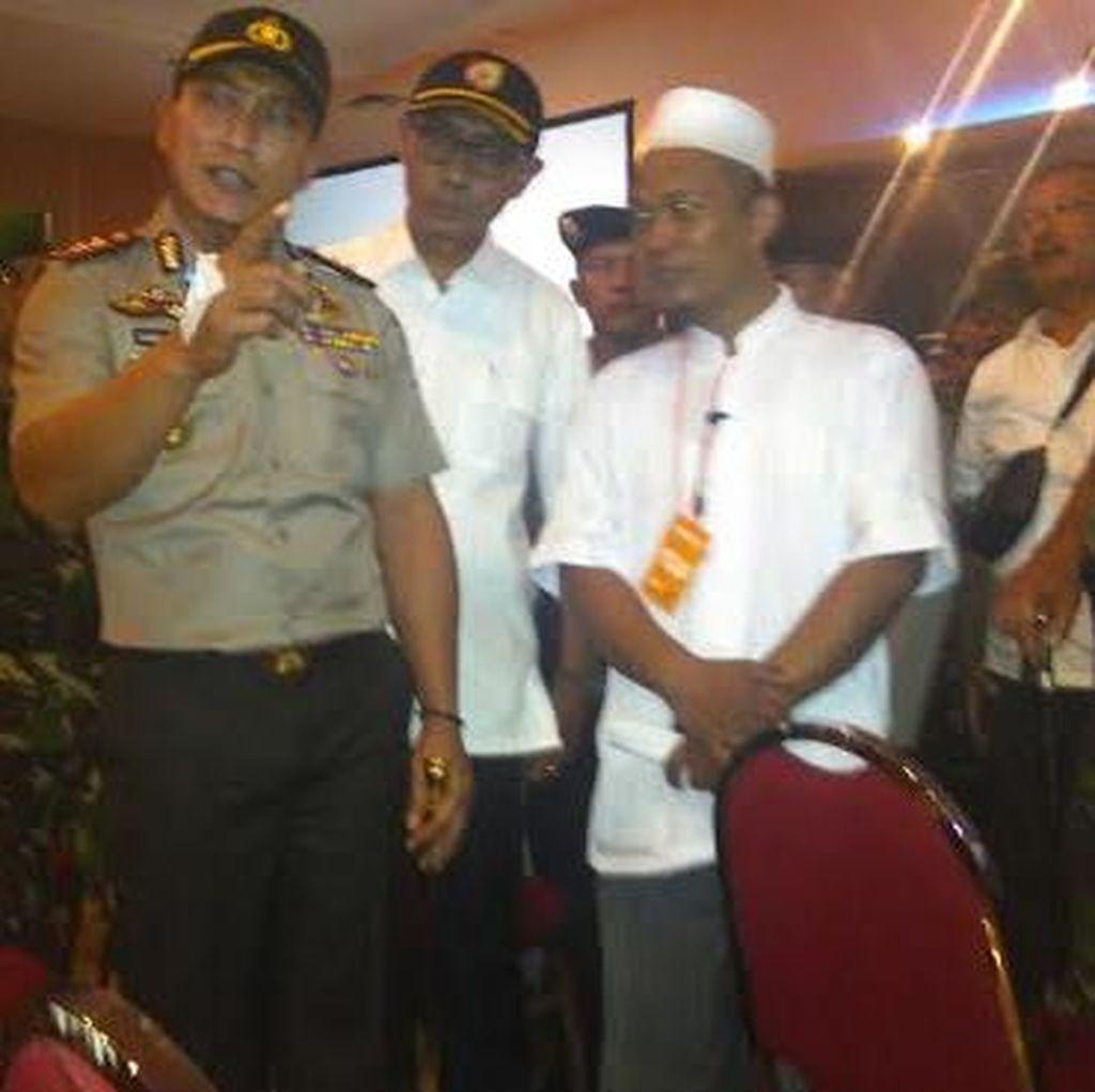 Polisi Periksa Ketua Panitia Acara Muktamar Tokoh Umat HTI Jember