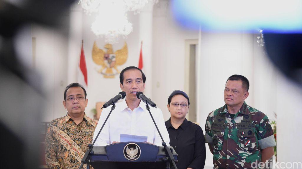 Presiden Jokowi dan Menlu Retno Sampaikan Terima Kasih kepada Filipina