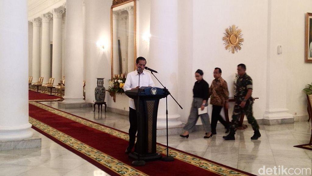 Jokowi: 10 WNI yang Disandera Tiba di Jakarta Tengah Malam Nanti