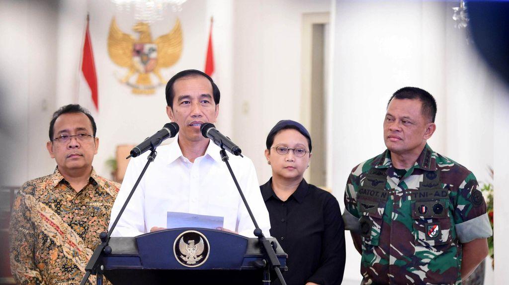 Lokasi 4 WNI yang Disandera Diketahui, Presiden Jokowi: Ini Beda Faksi