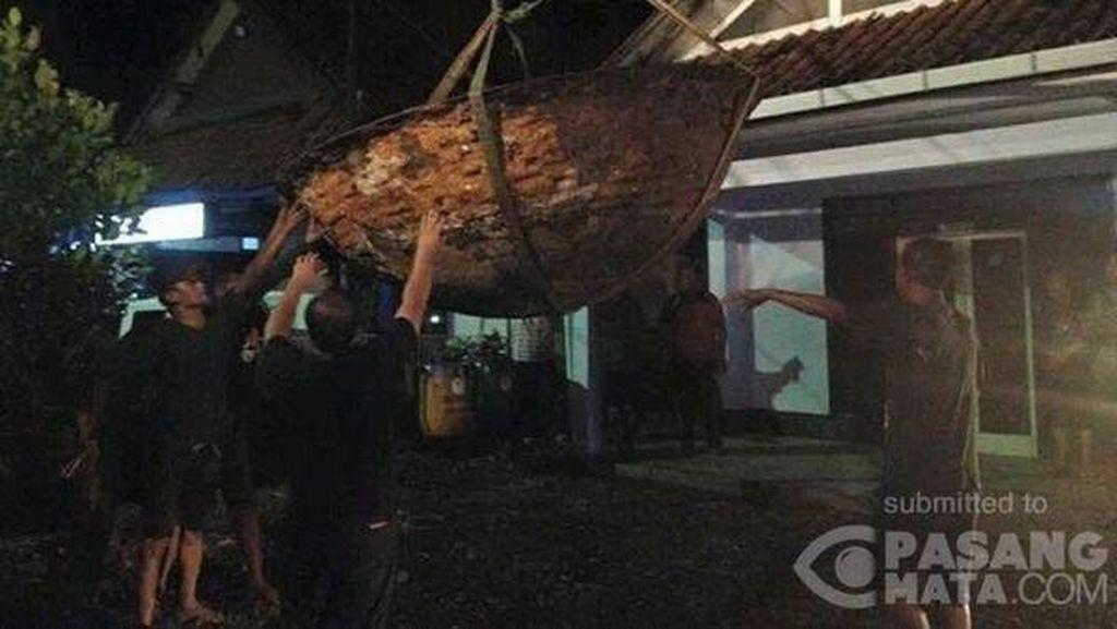 Wajan Raksasa di Kutoarjo Dipindahkan ke Museum Tosan Aji