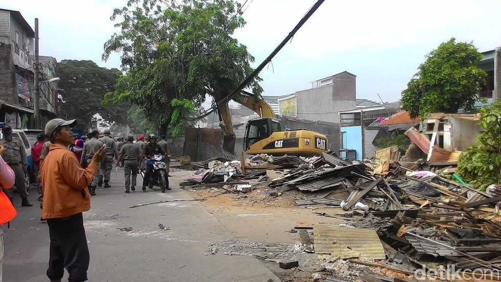 Warga Pemilik Rumah dan Toko di Menceng Protes Pemprov DKI: Kami Punya Sertifikat!