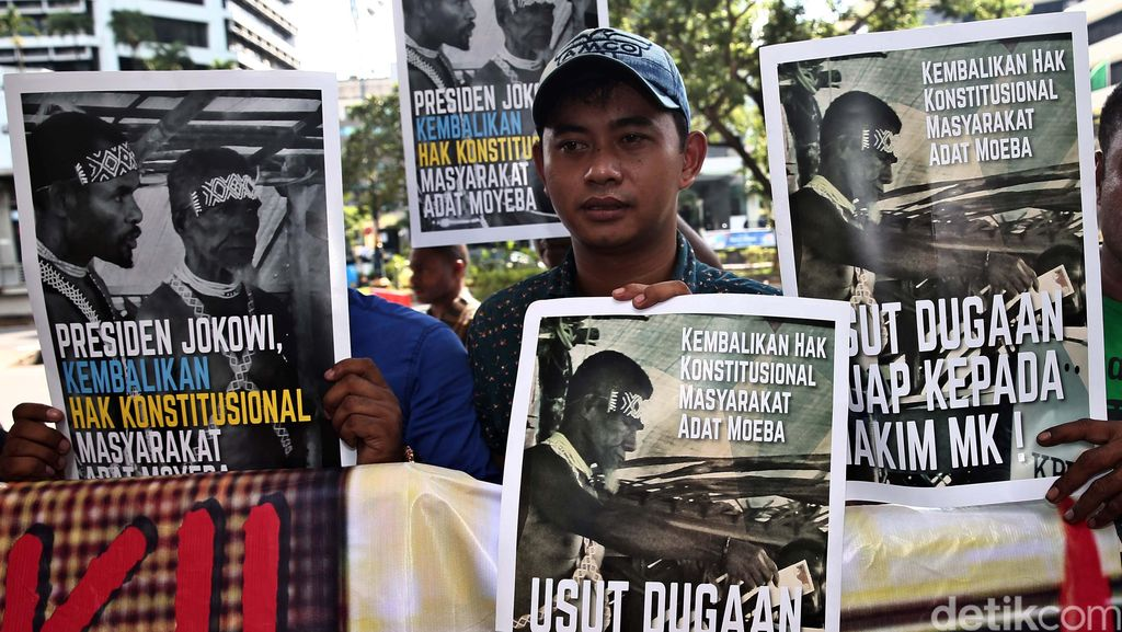 Demo Sengketa Pilkada di KPK