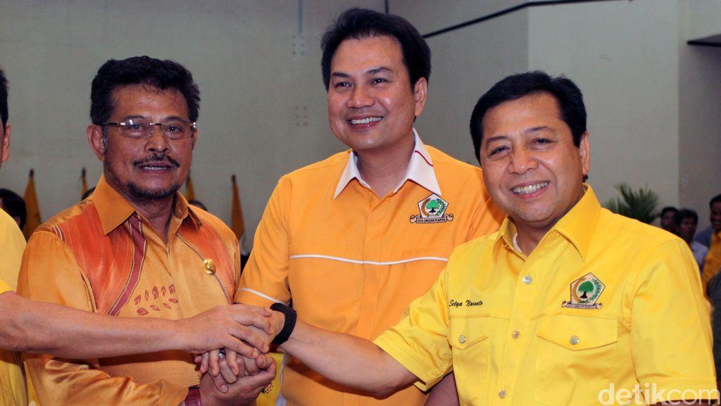 Aziz Syamsuddin Jadi yang Pertama Daftar Caketum Golkar