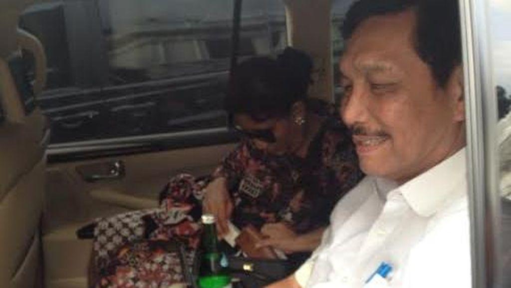 Percakapan Saat Susi Curhat ke Luhut Usai Rapat Terbatas Bersama Jokowi dan JK