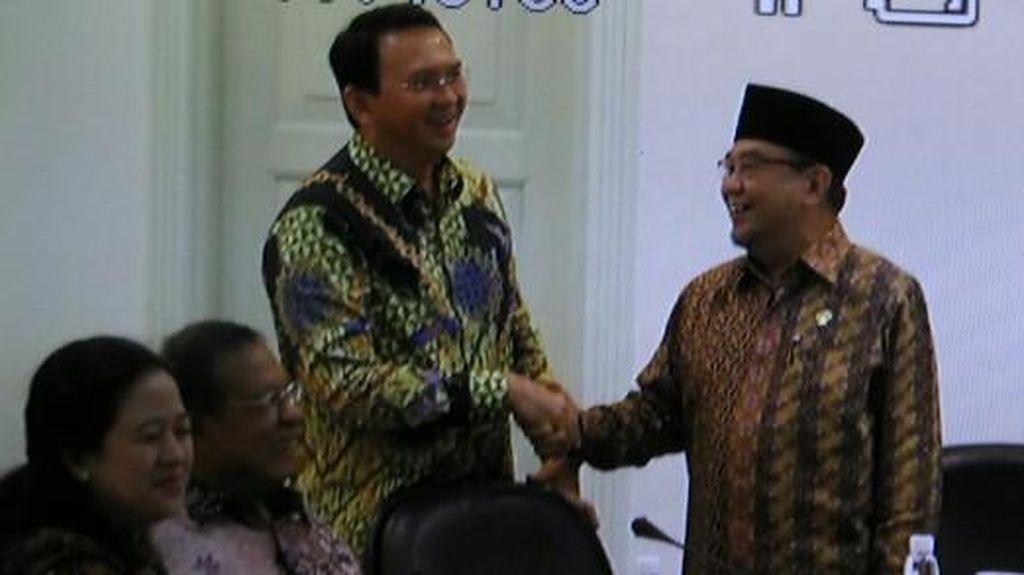 Momen Mesra Ahok dan Ketua BPK di Rapat Kabinet