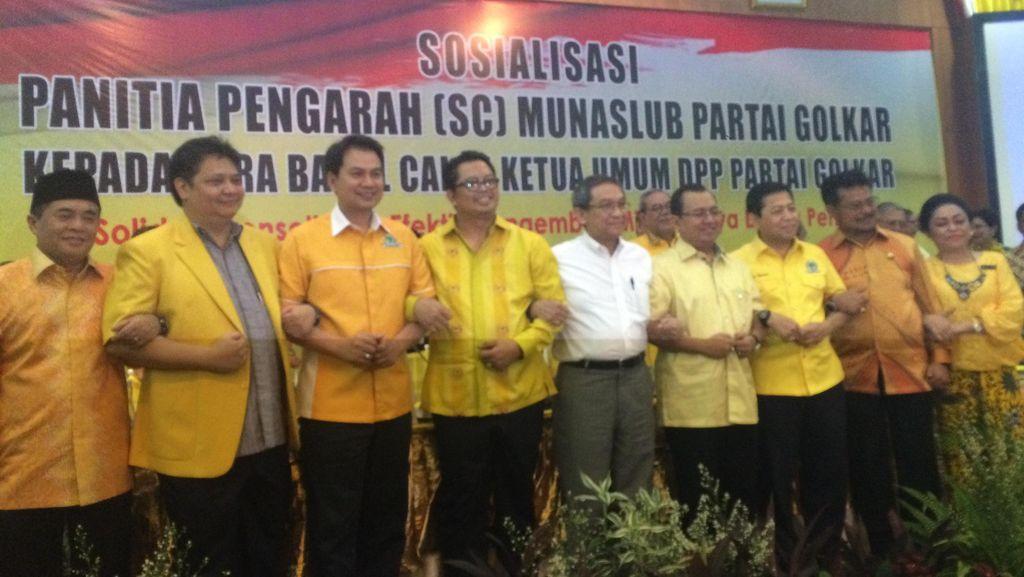 SC Munaslub Golkar: 2 Orang Caketum Tetap Tolak Setor Iuran Rp 1 M