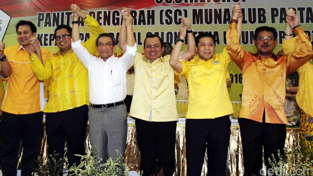 Aziz Syamsuddin: Komitmen Saya Pastikan Golkar Dukung Jokowi-JK