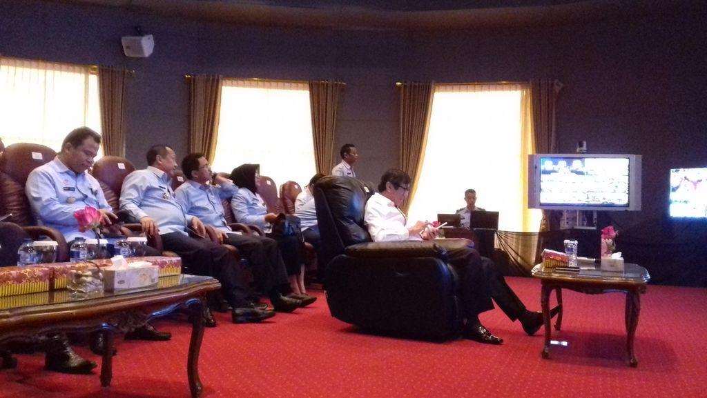 Ingin Pembuatan Paspor Cepat, Menkum Telekonferensi dengan 15 Kepala Imigrasi