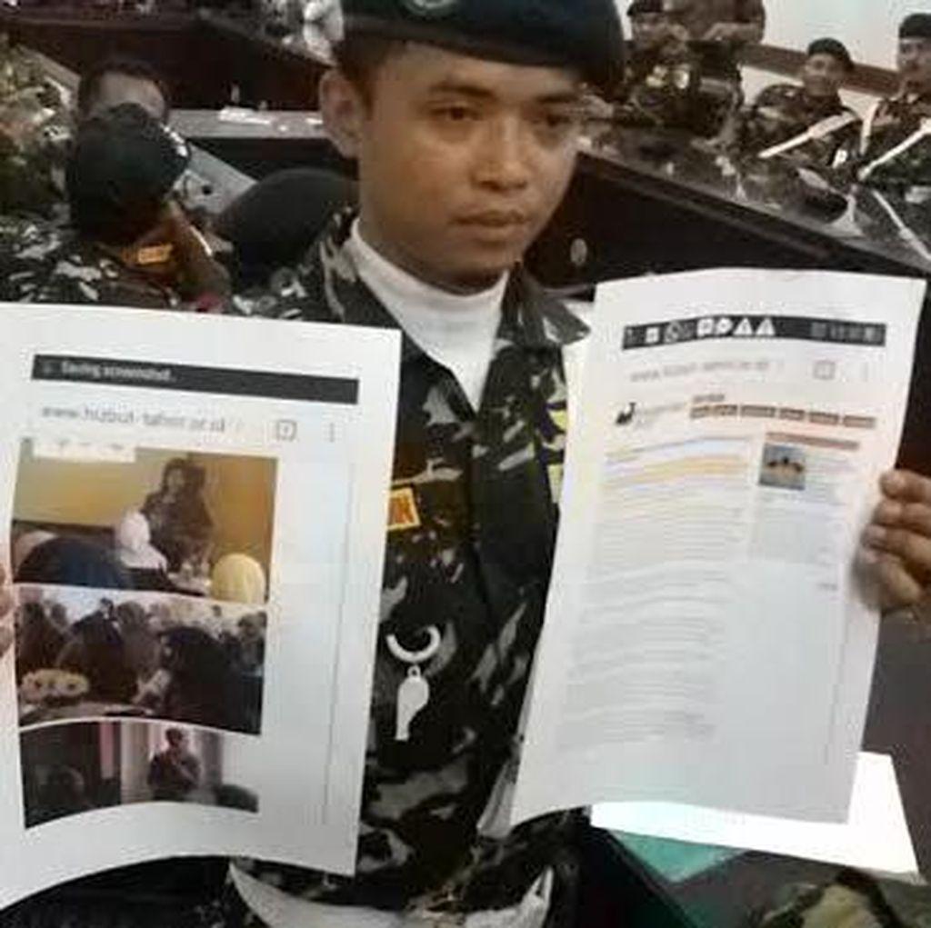 Ratusan Banser dan GP Ansor Datangi Pemkab Tuntut Bupati Larang Aktivitas HTI