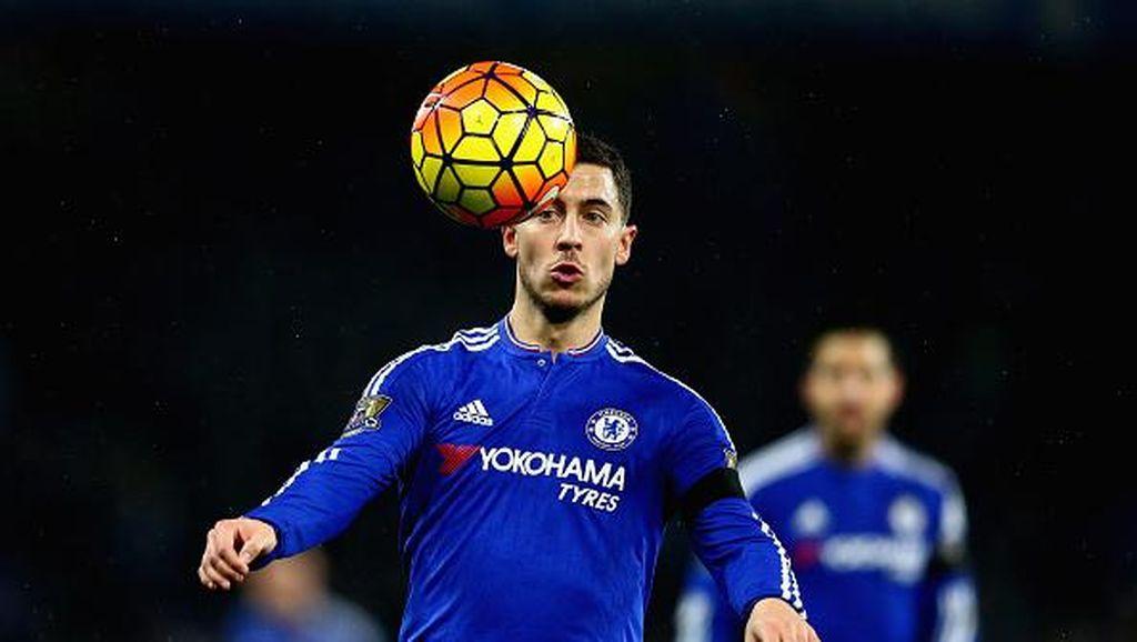Lupakan Musim Kemarin, Hazard Bertekad Kembali ke Performa Dua Musim Lalu