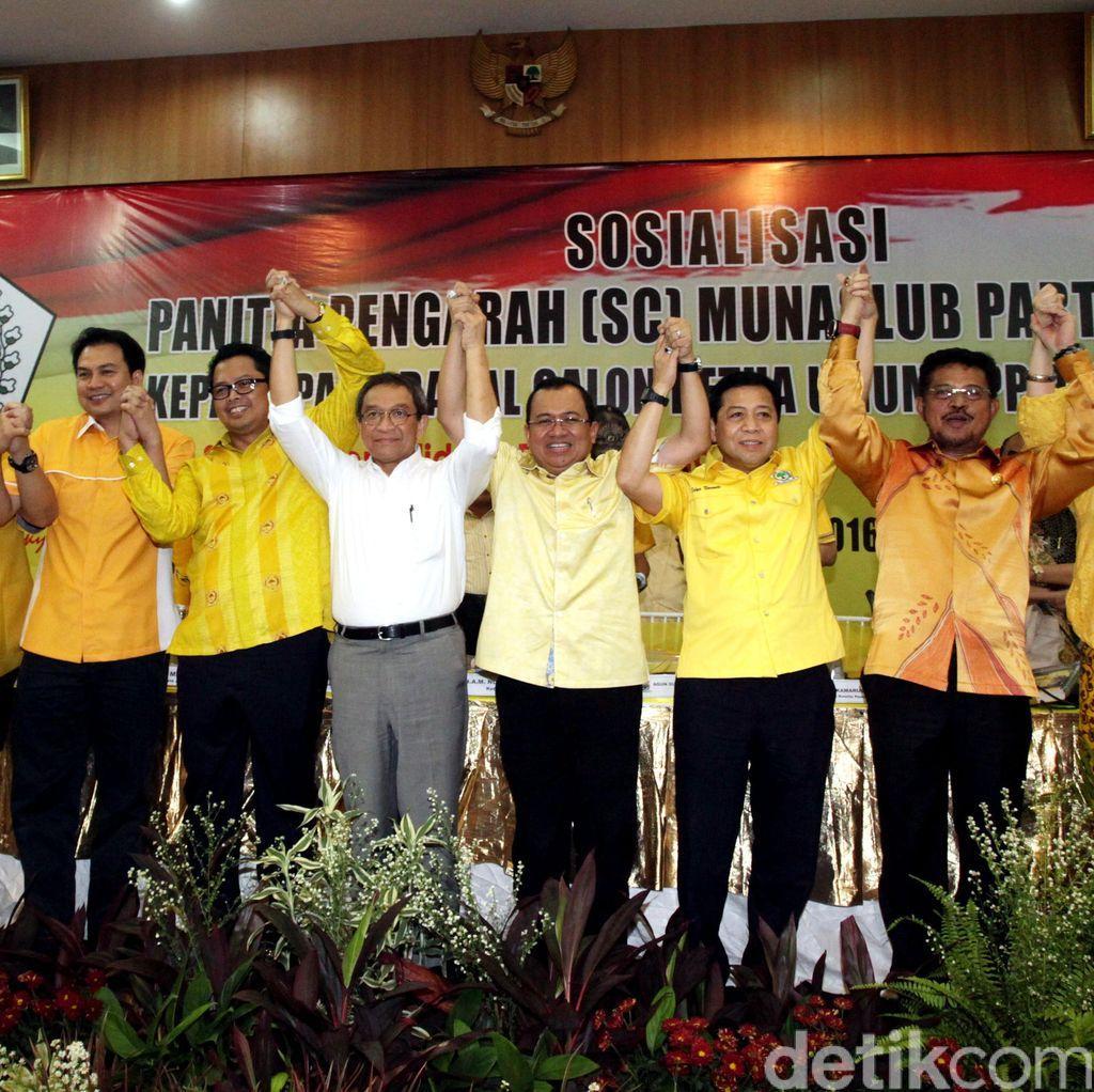 Saat Para Caketum Golkar Jualan Jokowi