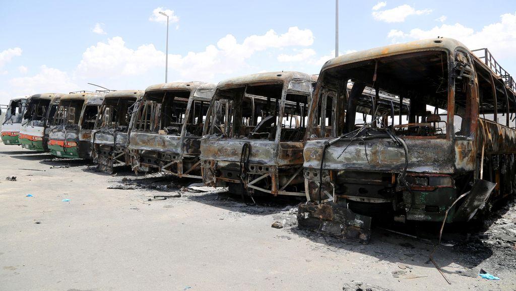Rentetan Masalah Saudi Binladin Group, Crane Roboh Hingga Pembakaran Bus