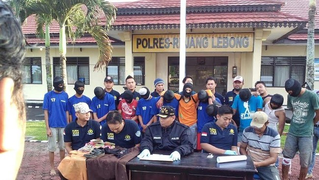 7 Pemerkosa Gadis 14 Tahun di Bengkulu Hanya Dituntut 10 Tahun Bui
