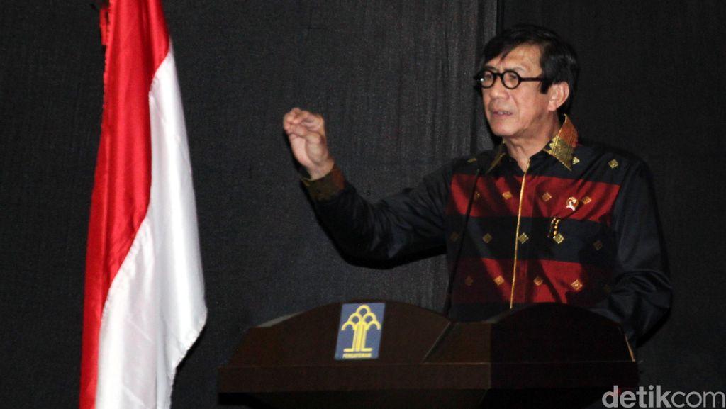 Menkum Berharap DPR Dukung Perppu Kebiri dan Hukuman Mati Bagi Penjahat Seksual