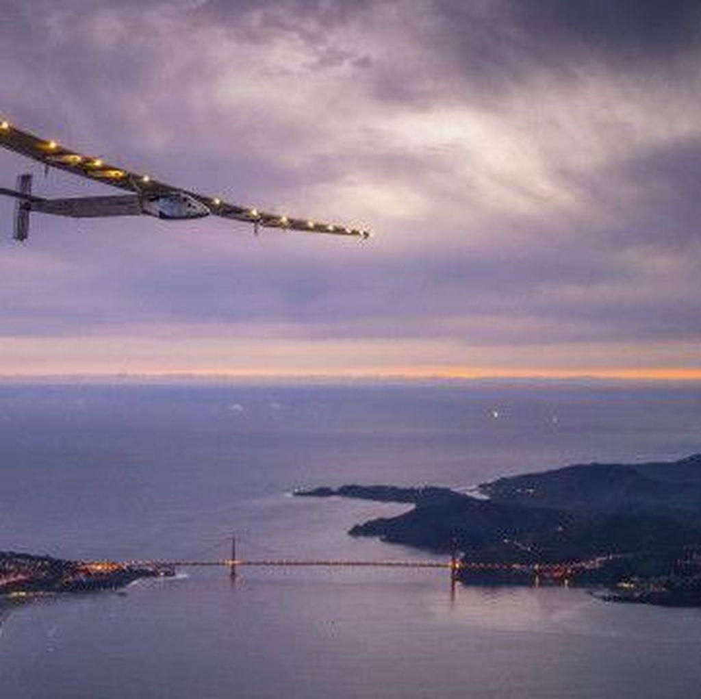 Pesawat Tenaga Surya Solar Impulse Tiba di Phoenix AS