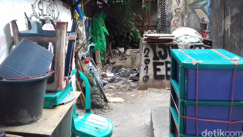 Ini Penampakan Lokasi Bullying di SMA 3 Jakarta