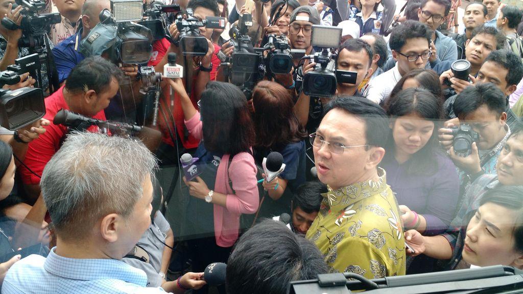 Ahok Datang ke Menko Luhut Bahas Pemasangan 6 Ribu CCTV di Jakarta