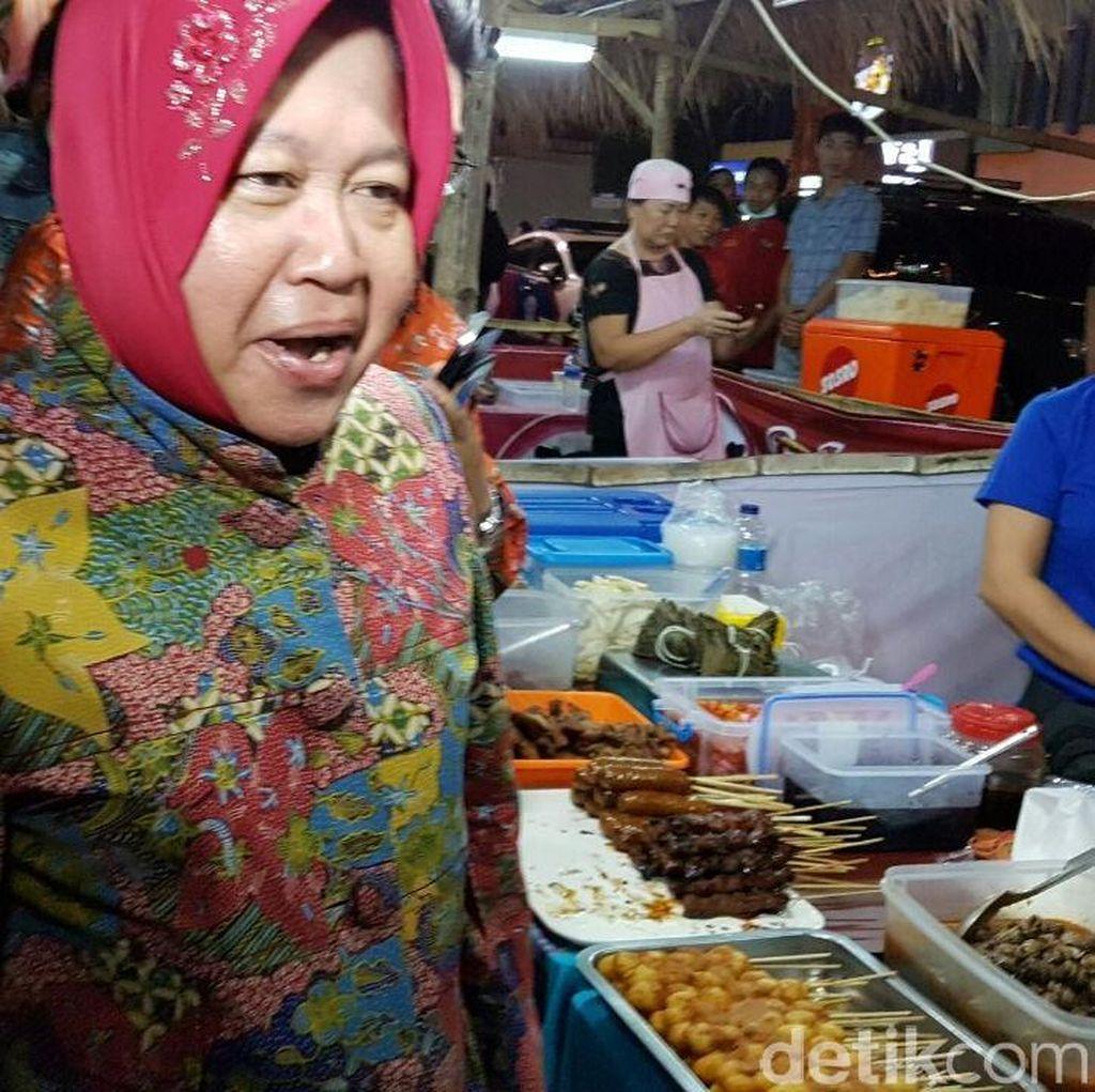 Gemukkan Sapi, Wali Kota Risma Pastikan Harga Daging di Surabaya Stabil
