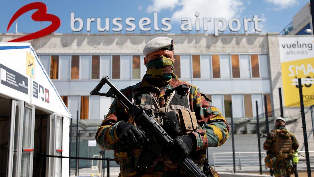 Sistem Keamanan Baru Bandara Brussels Buat Penumpang Ketinggalan Pesawat
