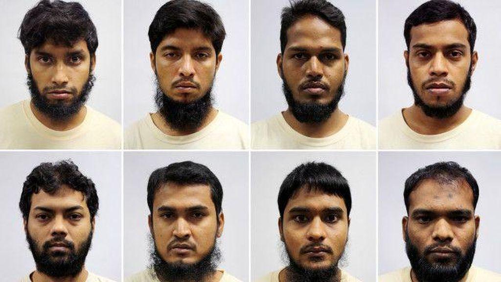 Migran Terduga ISIS Ditangkap di Singapura dan Bangladesh