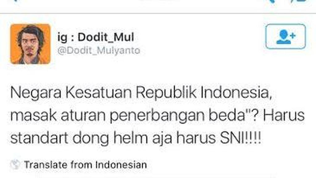Direktur Keamanan Penerbangan Kemenhub Minta Maaf ke Dodit Mulyanto Soal Biola
