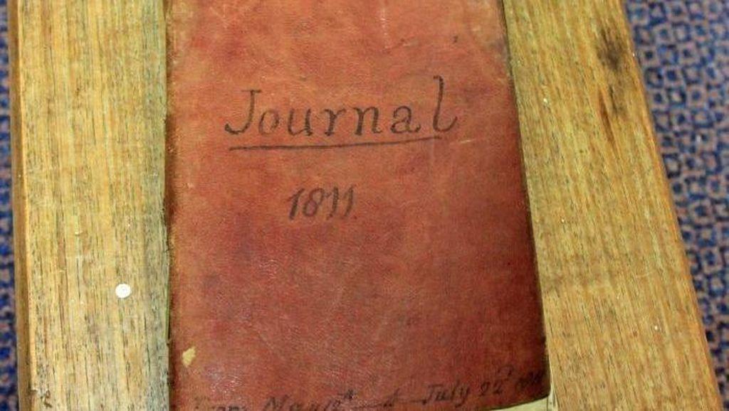 Buku Harian Berusia 200 Tahun Ditemukan di Toko Buku Bekas di Hobart