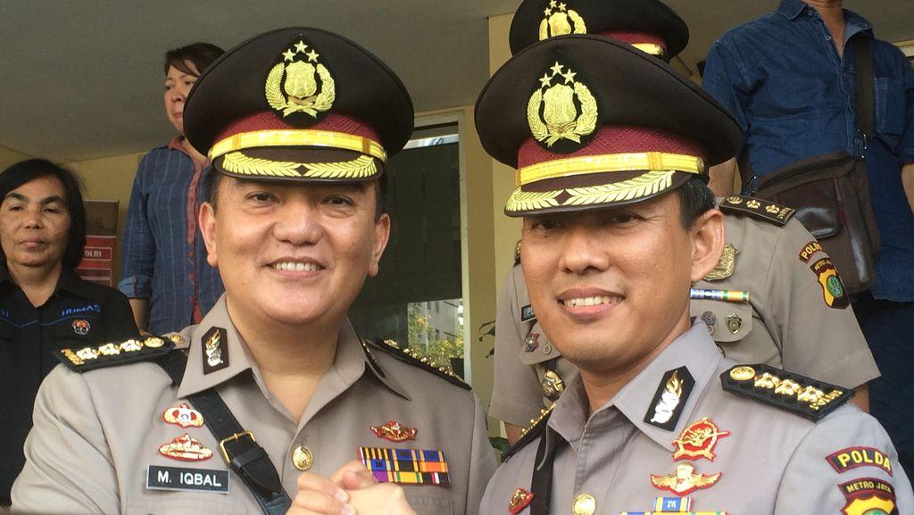 Kapolda Irjen Moechgiyarto Lantik 4 Pejabat Utama Polda Metro Jaya