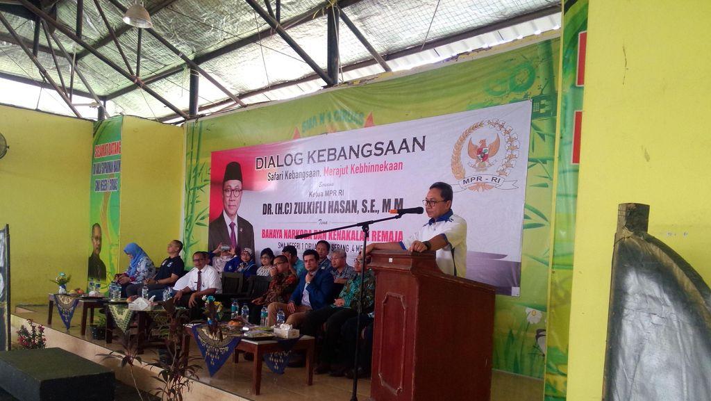 Ketua MPR Dukung Jaksa Agung Teruskan Hukuman Mati Pengedar Narkoba