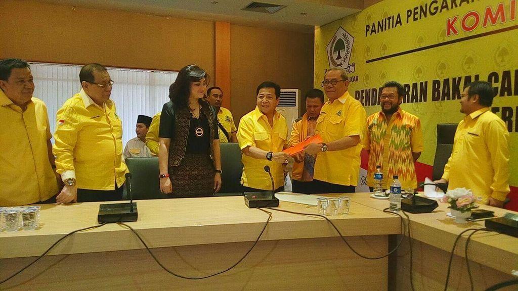 Kubu Novanto Yakin Dapat Dukungan dari Idrus Marham untuk Munaslub Golkar