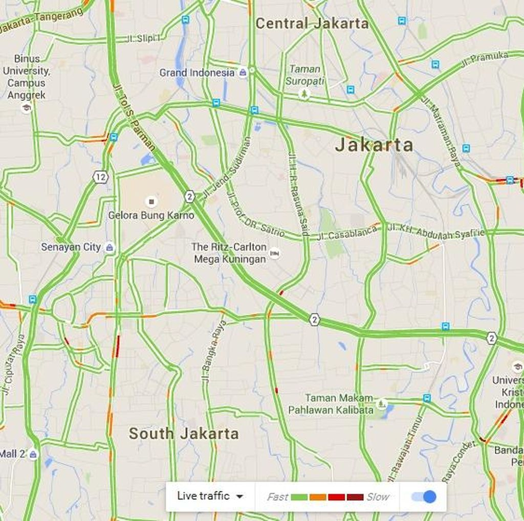Pagi Hari di Long Weekend, Arus Tol Dalam Kota dan Jagorawi Terkendali