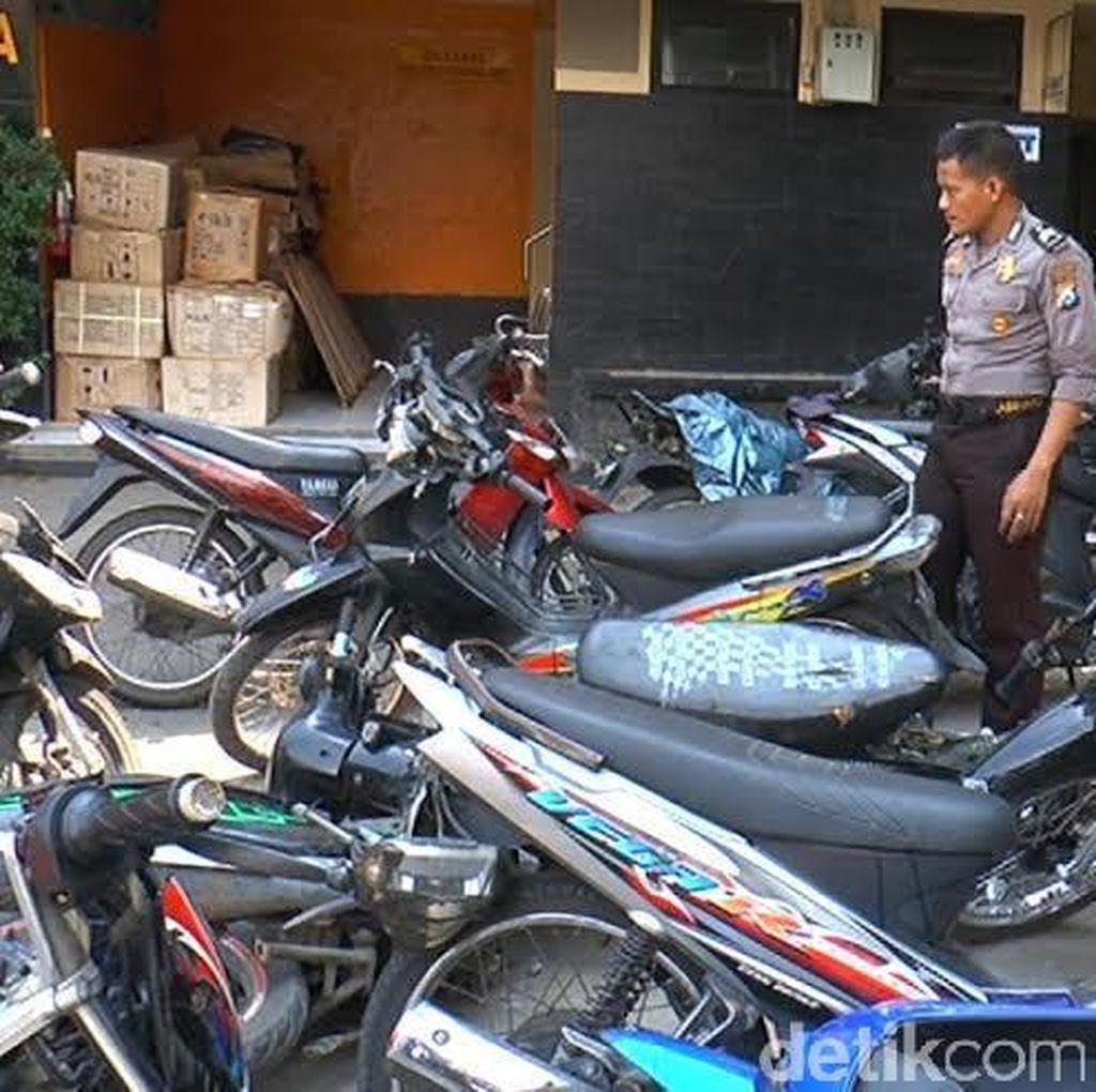 Polisi Amankan 37 Motor Tak Bertuan di Aksi <i>Sweeping</i> Suramadu