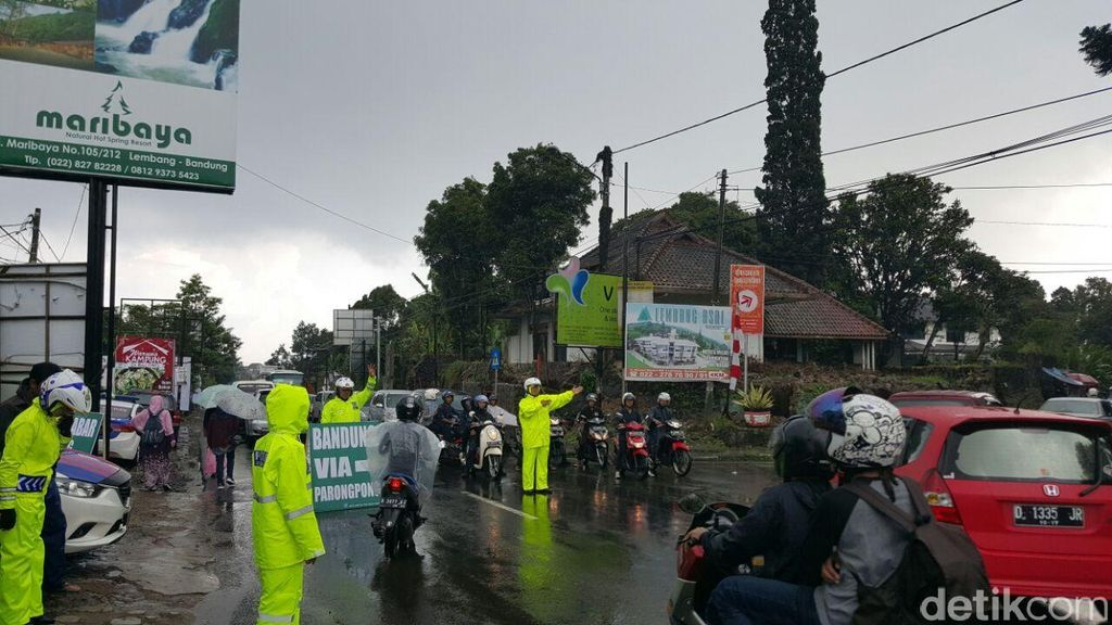 Hari Libur Panjang Kedua, Subang-Lembang Macet hingga 4 Kilometer