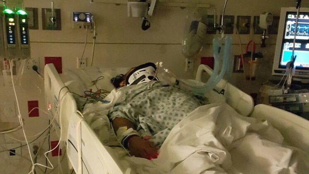 Ilham Ronas WNI Korban Kecelakaan Maut di AS Kritis, Begini Penampakannya