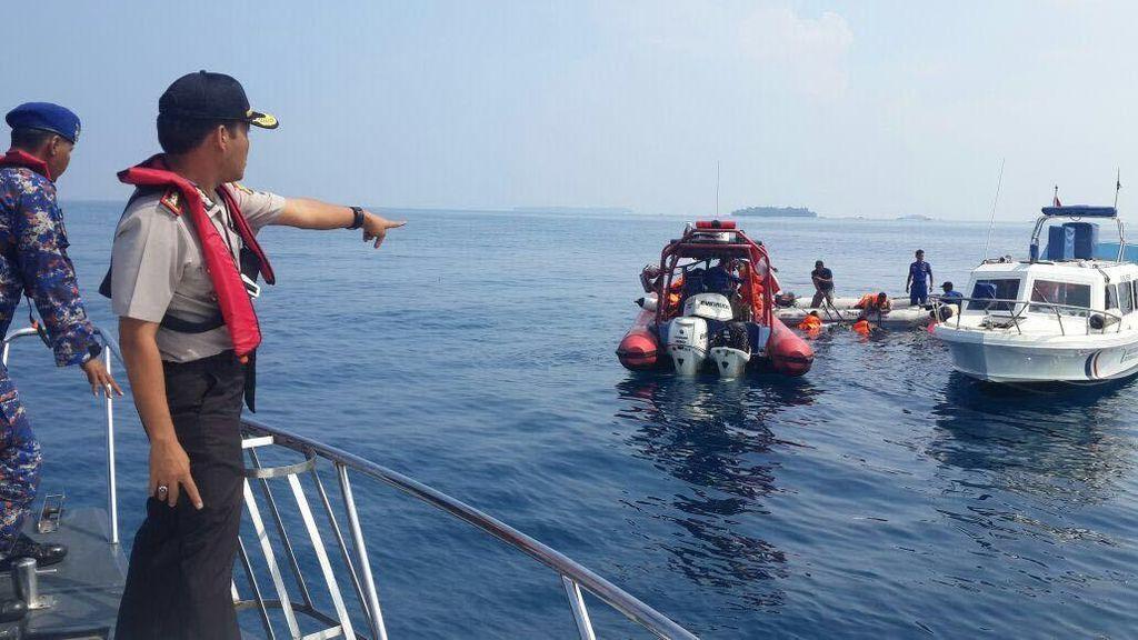 Lokasi Pencarian 1 Pemancing yang Tenggelam di Kepulauan Seribu Diperluas