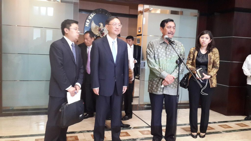 Kunjungi Luhut, Delegasi China Bahas Soal Infrastruktur di Papua
