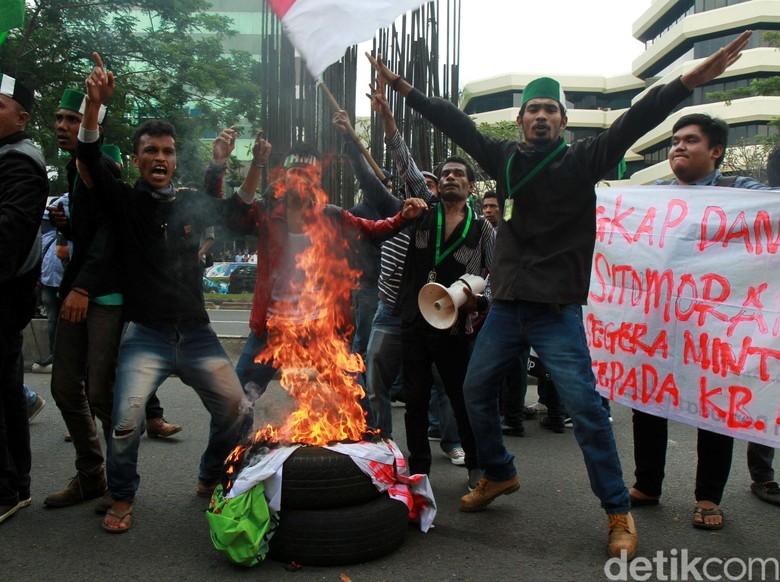 Demo Ricuh HMI Kemarin, Ini Sejumlah Kerusakan di Gedung KPK