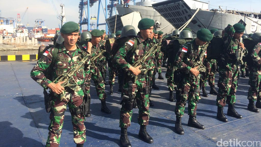 450 Pasukan TNI AD Diberangkatkan untuk Jaga Perbatasan RI- Papua Nugini
