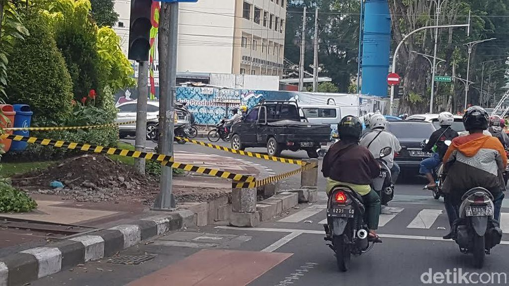 Setiap Zebra Cross di Surabaya Mulai Dibangun Fasilitas Disabilitas