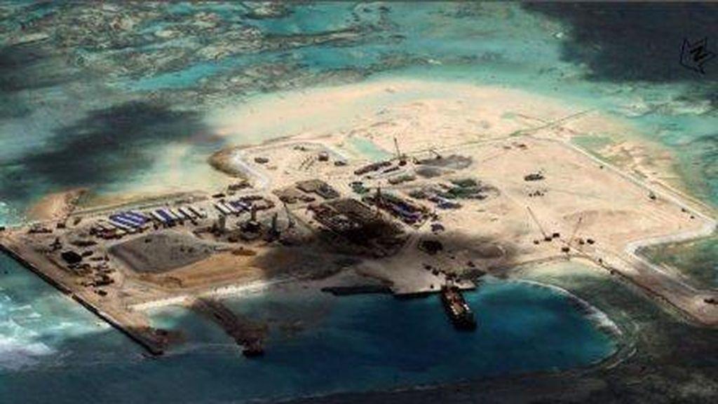 Kapal Perang AS Berlayar di Laut China Selatan, China Kerahkan Jet Tempur