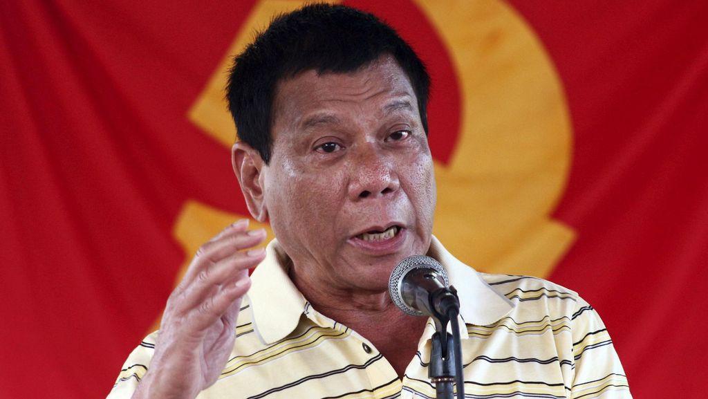 Presiden Terpilih Filipina Duterte Tak Jadi Temui Paus untuk Minta Maaf
